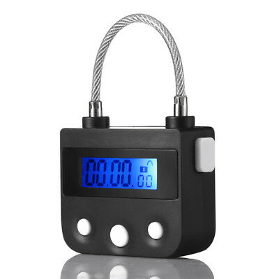 Multipurpose Time Lock For Ankle Handcuffs Mouth Gag Electronic Timer Bondage