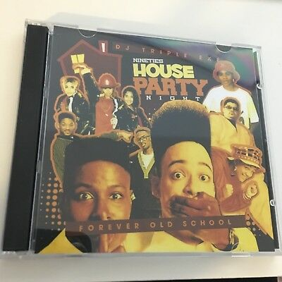 DJ Triple Exe Forever Old School 90s House Party Night Hip Hop Mixtape MIX CD
