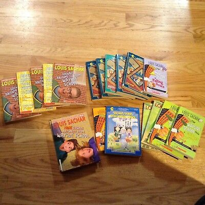 WAYSIDE SCHOOL GUIDED READING  5 sets  19  books
