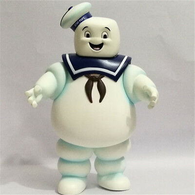 Movie Ghostbusters Stay Puft 11″Marshmallow Man Money box Bank Figure Toy No Box