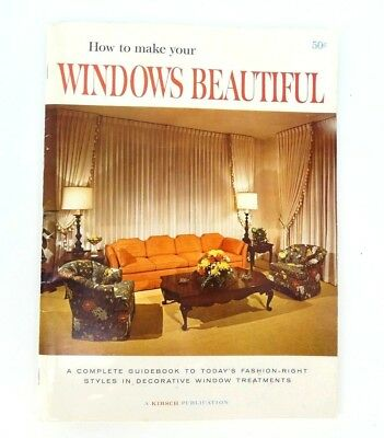 Mid Century How To Make Your Windows Beautiful Book Guide 1965
