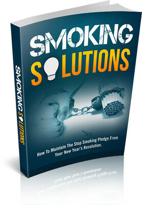 SMOKING SOLUTIONS pdf ebook+MRR+Free Shipping+BONUS Book