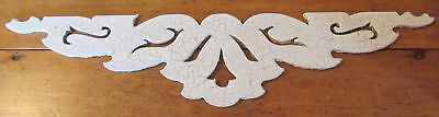 Antique Architectural Salvage Wood Gingerbread House Building Trim Moulding