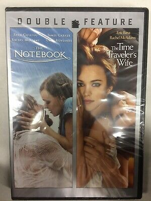 THE NOTEBOOK/THE TIME TRAVELER'S WIFE 2012 (DVD,NEW) Free Shipping