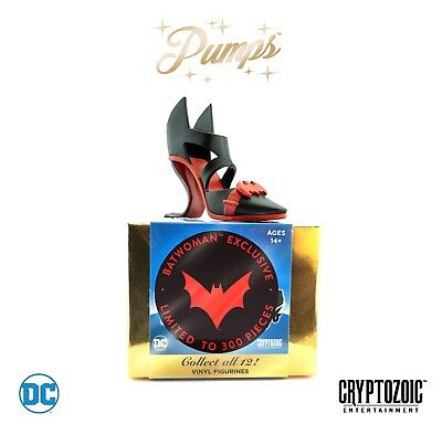 Batwoman DC Pumps black & red Cryptozoic 2018 SDCC Comic-Con EXCLUSIVE ONLY 300!
