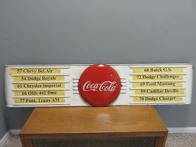 We Sell Coca Cola Huge Laminated A4 size Retro Sign vintage POSTER #29