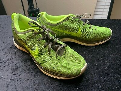 92893a0aedbb ... best price nike flyknit lunar 1 mens running shoes 554887 371 size 9 neon  yellow 5a82f