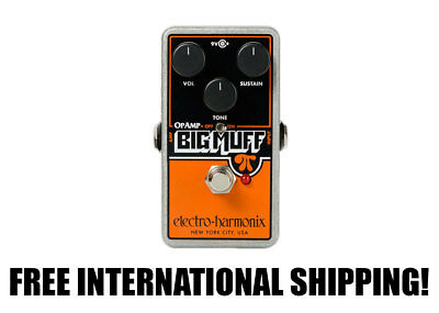 Electro-Harmonix Op-Amp Big Muff Pi Distortion/Sustainer FREE INTERNATIONAL SHIP