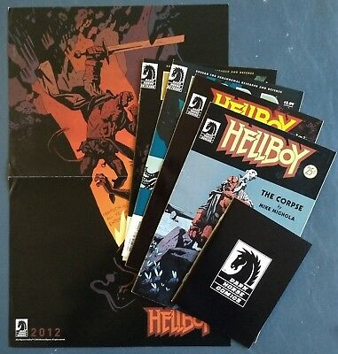 B.P.R.D, Hellboy, Dark Horse PROMO comic - Hellboy story, poster, Corpse, more!