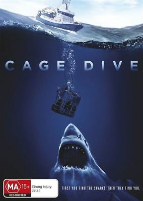 Cage Dive / Open Water 3: Cage Dive (DVD, 2017)