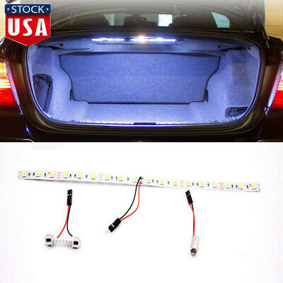 Super Bright HID White 48-SMD LED Strip Light Car Trunk Cargo Area Illumination