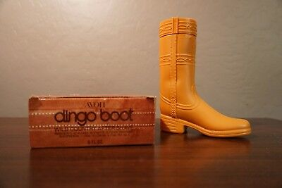 Vintage 1979  Avon Dingo Boot Wild Country After Shave -New In Box