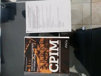 APICS CPIM BOOK-Execution and control of operations