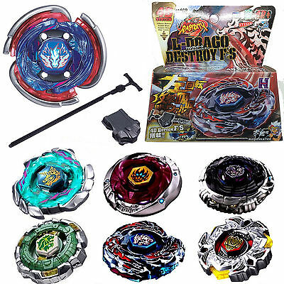 Metal Fusion Masters Beyblade 4D System Fury Fight Top with Launcher in Box Gift