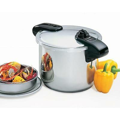 Presto Pro 8 Qt. Stainless Steel Pressure Cooker (01370) & New - Free Shipping