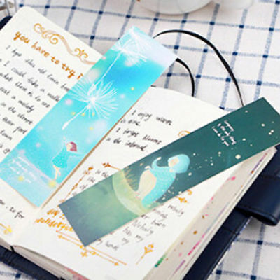 30Pcs/box Lonely You Series Exquisite Boxed Bookmark Message Card Supply Gift LV