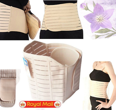 Women Postpartum Belly Wrap Band Maternity Recovery Support Waist Belt UK