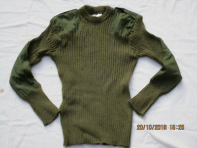 English Sweater,Jersey Man ´S Heavy ,Olive,Size Gr.94cm ,(Small) Used,Well ,#4