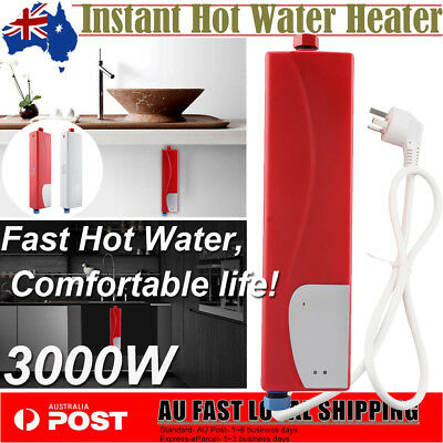Mini Portable Hot Water Heater Shower Camping Electric Outdoor Instant Caravan
