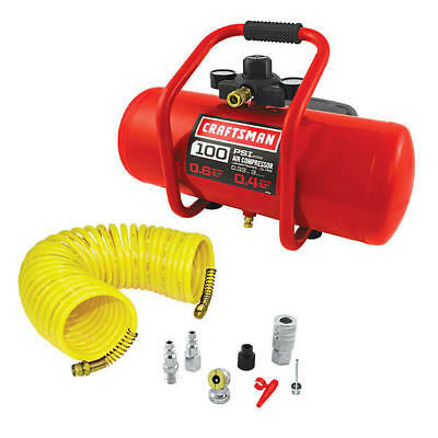 Craftsman Oil-Free 3 gal. Portable Horizontal Air Compressor (16953) & NEW