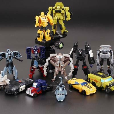 Action Figures  Kids Toys Transformers Bumble Bee Optimus Prime Ironhide Robots