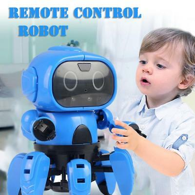 DIY Assembled Gesture Sensing Electric Robot Gifts Children Remote Control Robot