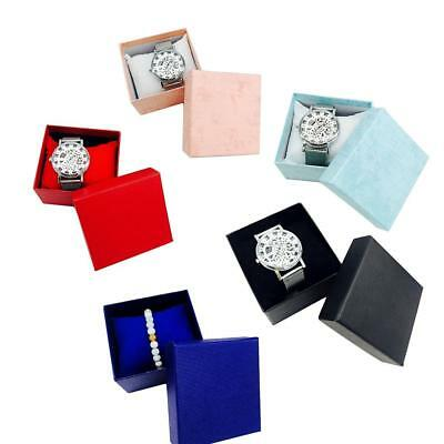UK Wholesale Present Gift Box Case For Bangle Ring Earrings Wrist Watch Box