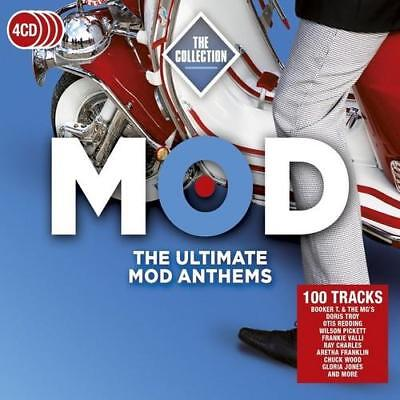 MOD THE COLLECTION Ultimate Mod Anthems NEW & SEALED 4CD SET NORTHERN SOUL R&B
