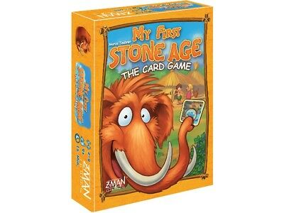 My First Stone Age - The Card Game Edition Mulitiplyer Board Game