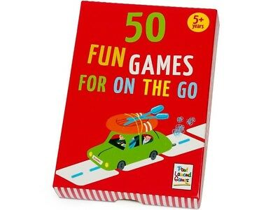 Paul Lamond 50 Fun Games For On The Go/Travel Multiplayer Card Game