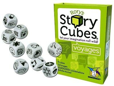 Rory's Story Cubes Voyages Card & Dice Family Game