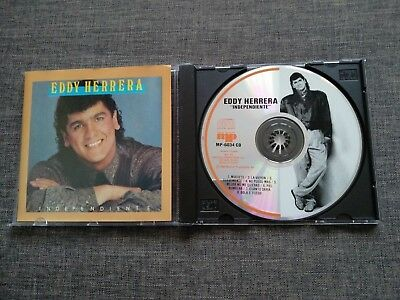 Cd Eddy Herrera - Independiente - 8 Tracks - 1990 - Canada - Jorge Gomez Mickey