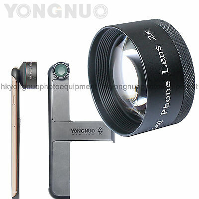 YONGNUO 2.0X 2X Phone Mobile Magnifier Zoom Tele Lens for Apple iPhone 6 and 6S