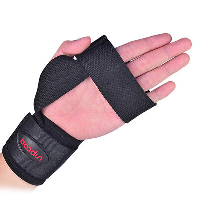 2 x Weight Lifting Wrist Wraps Bandage Hand Support Gym Straps Brace Cotton Band