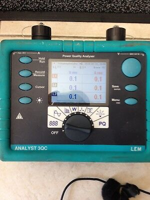 LEM Analyst 3Q power analyser