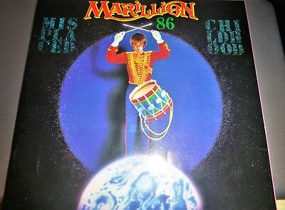 Marillion Misplaced Childhood 1986  Tour Programme