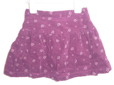 Jasper Conran - Pretty Girls Warm Burgundy Corduroy DESIGNER Skirt 12-18 Months