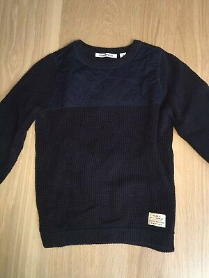Boys Country Road navy blue jumper,size 8, great condition.