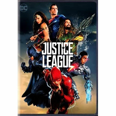 Justice League (DVD,2017)  Action Adventure!  New & Sealed