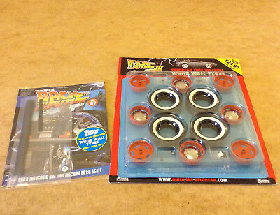 Build Back To The Future Delorean Time Machine Issue 97 + White Wall Tyres Issue