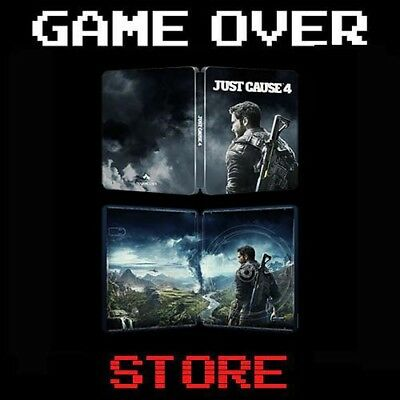JUST CAUSE 4 STEELBOOK EDITION Playstation 4 PS4 Nuovo Pre Order Promo