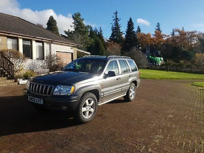 2002 Jeep Grand Cherokee Overland 4.7 V8, low miles, 4x4, offroad, pickup