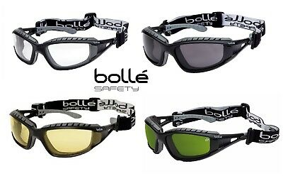 4f1c909ad5da Bolle TRACKER Safety Goggles Glasses Spectacles avaiable wtih Welding shade  Lens