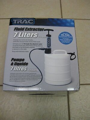 Trac Outdoors T10064 7L 1.85 gallon FLUID/OIL EXTRACTOR