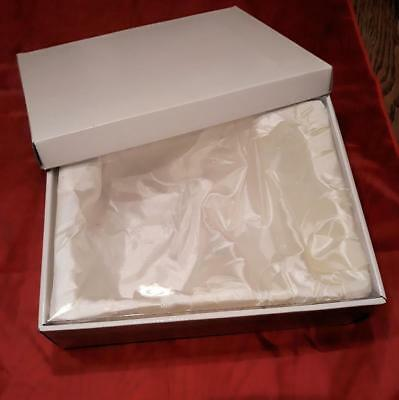 Four Large Satin-lined Presentation Gift Boxes (White) Bulk Buy