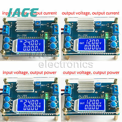 Boost/step-down constant voltage constant current battery charging LCD Anzeige