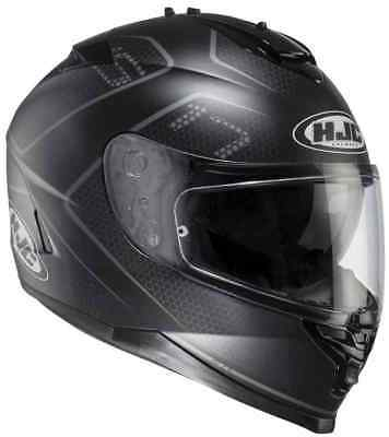 Casco integrale doppia visiera hjc Lank is-17 mcs5f