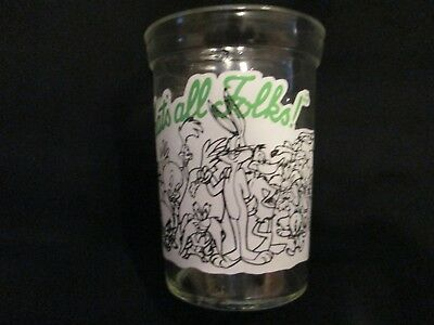 Vintage Welchs Looney Tunes #12 Jelly Jar 1994 That's All Folks New