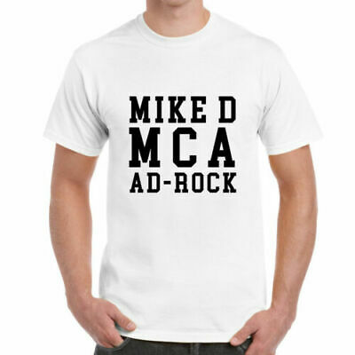 Mike D MCA Ad- Rock T-Shirt - Beastie Boys Bande Signataire