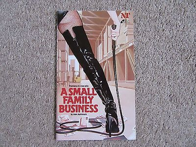 1987 A Small Family Business by Alan Ayckbourn - Simon Cadell, Ron Pember, etc.